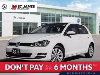 Used 2016 Volkswagen Golf Trendline, Apple Car Play, Backup Camera, Alarm System for sale in Winnipeg, MB