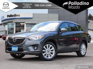 Used 2014 Mazda CX-5 GT - TEST DRIVE AVAILABLE BY APPOINTMENT - FULL LEATHER for sale in Sudbury, ON