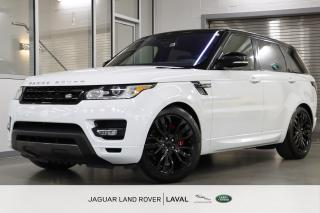 Used 2016 Land Rover Range Rover Sport V8 Supercharged Dynamic *GARANTIE DISPONIBLE* for sale in Laval, QC