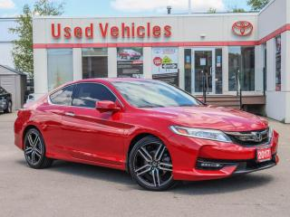 Used 2017 Honda Accord Touring LEATHER SUNROOF NAVI POWER/HEAT SEAT ALLOS for sale in North York, ON