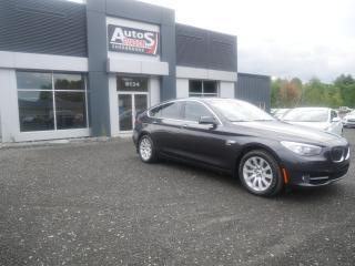 Used 2011 BMW 5 Series 535i xDrive Gran Turismo + GPS + CAMÉRA for sale in Sherbrooke, QC