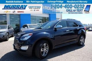 Used 2017 Chevrolet Equinox *Heated Leather Seats* Remote Start* Backup Cam* for sale in Brandon, MB
