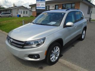 Used 2013 Volkswagen Tiguan Highline for sale in Ancienne Lorette, QC