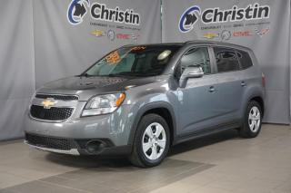 Used 2014 Chevrolet Orlando LT DEM A DISTANCE BLUETOOTH XM 7 PASSAGERS for sale in Montréal, QC