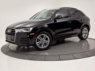 Used 2016 Audi Q3 QUATTRO KOMFORT  CUIR TOIT PANO BAS MILLAGE for sale in Brossard, QC