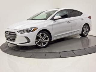 Used 2018 Hyundai Elantra GLS Auto CUIR CAMERA DE RECUL  TOIT OUVRANT for sale in Brossard, QC