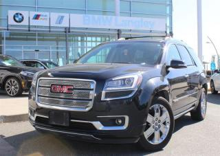 Used 2015 GMC Acadia AWD DENALI for sale in Langley, BC