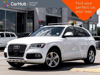 Used 2015 Audi Q5 3.0L TDI Progressiv Quattro Panoramic Sunroof Navigation Backup Camera for sale in Thornhill, ON