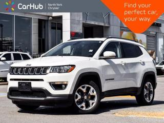 Used 2019 Jeep Compass Limited 4x4 SiriusXM Ready Backup Camera Heated Seats Remote Start for sale in Thornhill, ON