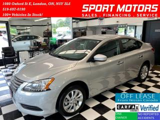 Used 2015 Nissan Sentra SVX+Camera+Heated Seats+Keyless Entry+AccidentFree for sale in London, ON