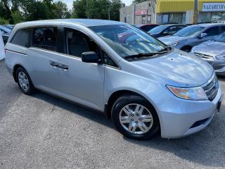 Used 2011 Honda Odyssey LX/ PWR GROUP/ CRUISE CTRL/ COLD AC/ CAPTAIN SEATS for sale in Scarborough, ON