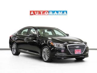 Used 2016 Hyundai Genesis AWD Tech Pkg Nav Leather PanoRoof Backup Cam for sale in Toronto, ON