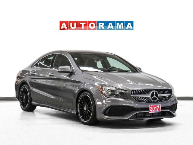2017 Mercedes-Benz CLA 250 4Matic AMG Pkg Nav Leather PanoRoof