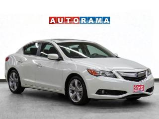 Used 2015 Acura ILX Tech Pkg Nav Leather Sunroof Backup Camera for sale in Toronto, ON