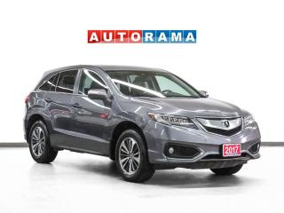 Used 2017 Acura RDX Elite Pkg AWD Nav Leather Sunroof Backup Camera for sale in Toronto, ON