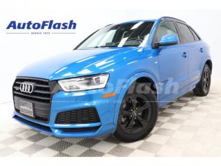 Used 2018 Audi Q3 Progressiv S-Line Quattro *GPS/Camera *Toit-Pano* for sale in St-Hubert, QC