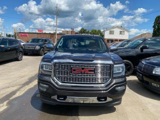 Used 2016 GMC Sierra 1500 **DENALI**SUNROOF**LOW KMS**BT**NAV**WIRELESS CHARGING**REARVIEW CAMERA**HEATED/COOL SEATS** for sale in Hamilton, ON