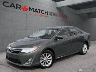 Used 2014 Toyota Camry XLE HYBRID / HEATED SEATS for sale in Cambridge, ON