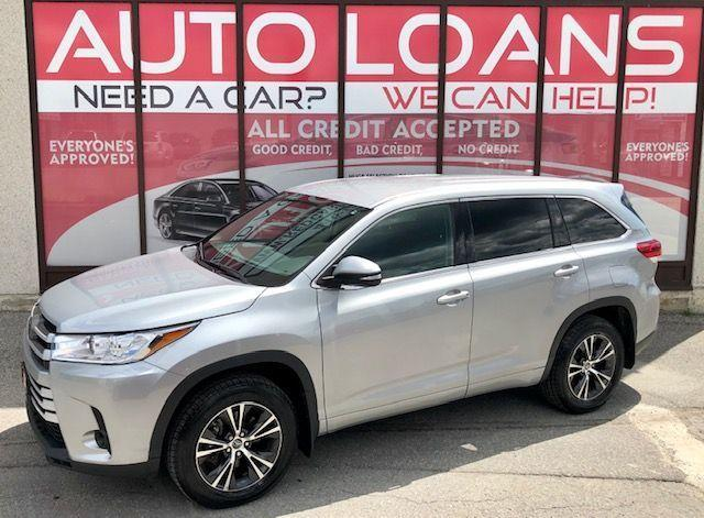 2018 Toyota Highlander LE-ALL CREDIT ACCEPTED