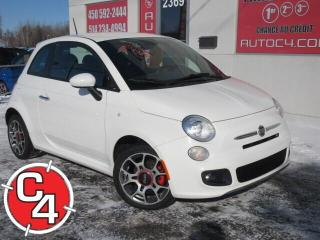 Used 2015 Fiat 500 CUIR MAGS A/C BLUETOOTH for sale in St-Jérôme, QC