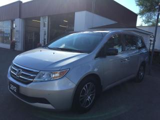 Used 2012 Honda Odyssey EX-L/LEATHER/P.ROOF/DVD/POWER SLIDING DOORS for sale in Guelph, ON