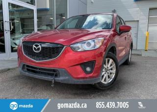 Used 2014 Mazda CX-5 GS - 2 SETS OF TIRES, BLIND SPOT, SUNROOF, HEATED SEATS, FRONT WHEEL DRIVE for sale in Edmonton, AB