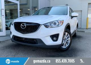 Used 2014 Mazda CX-5 GS - SUNROOF, BLIND SPOT, HEATED SEATS, PUSH BUTTON! for sale in Edmonton, AB