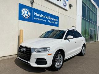Used 2016 Audi Q3 PANORAMIC ROOF / LEATHER HEATED SEATS for sale in Edmonton, AB