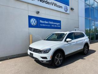 Used 2020 Volkswagen Tiguan *EXECUTIVE DEMO* HIGHLINE W/ DRIVER'S ASSISTANCE for sale in Edmonton, AB