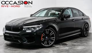 Used 2018 BMW M5 BAS KM! LOW MILEAGE! for sale in Boisbriand, QC