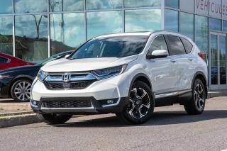Used 2017 Honda CR-V Touring NAVI CUIR TOIT AWD NAVI CUIR TOIT BAS KM for sale in Lachine, QC