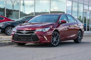 Used 2016 Toyota Camry XSE NAVI CUIR TRES BAS KM TRES BAS KM AUTO NAVI CUIR BLUETOOTH for sale in Lachine, QC
