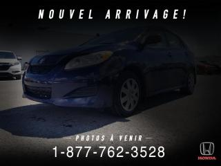Used 2011 Toyota Matrix A/C + AUTO + BAS KILOS + PAS CHER + WOW! for sale in St-Basile-le-Grand, QC