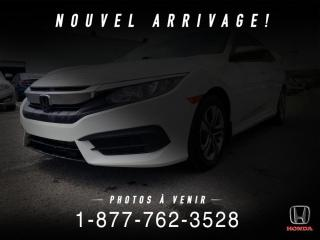 Used 2017 Honda Civic LX + MANUEL + A/C + CRUISE + WOW! for sale in St-Basile-le-Grand, QC