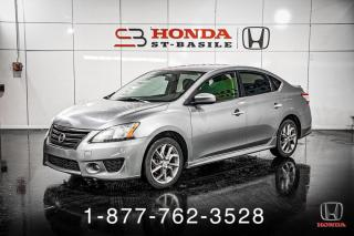 Used 2013 Nissan Sentra SR + AUTO + A/C + CRUISE + WOW! for sale in St-Basile-le-Grand, QC