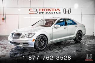 Used 2012 Mercedes-Benz S-Class S 550 + 4MATIC + NAVI + CUIR + WOW! for sale in St-Basile-le-Grand, QC