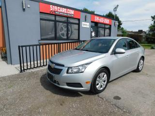 Used 2014 Chevrolet Cruze 1LT|BACKUP CAMERA|BLUETOOTH|REMOTE START for sale in St. Thomas, ON