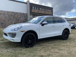 Used 2014 Porsche Cayenne Diesel Platinum Edition NAVI PANO ROOF BMS PARK  ASSIST for sale in North York, ON