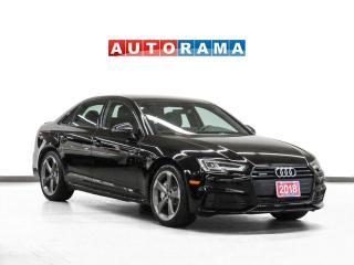 Used 2018 Audi A4 S-Line Quattro Progressiv Nav Leather Sunroof Bcam for sale in Toronto, ON