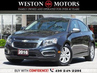 Used 2016 Chevrolet Cruze LS*LIMITED*BLUETOOTH*WOW ONLY 24KMS!!* for sale in Toronto, ON