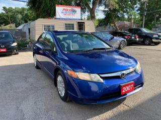 Used 2007 Honda Civic DX-G for sale in Toronto, ON