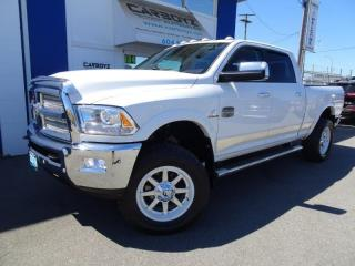 Used 2016 RAM 3500 Longhorn Diesel 4x4, 2.5 Inch Lift, 35 Inch Toyo's for sale in Langley, BC