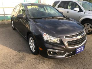 Used 2016 Chevrolet Cruze LT for sale in St Catharines, ON