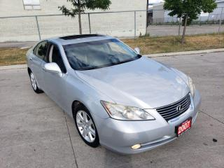 Used 2007 Lexus ES 350 Only 145000 km, Auto, 3/Y Warranty Available for sale in Toronto, ON