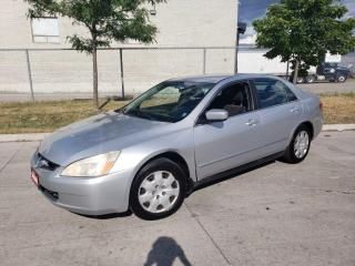 Used 2003 Honda Accord Automatic, 4 Door, 3/Y Warranty available. for sale in Toronto, ON