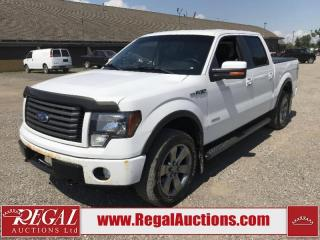 Used 2012 Ford F-150 FX4 Supercrew SWB 4WD for sale in Calgary, AB