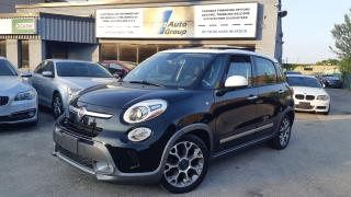 Used 2014 Fiat 500L Trekking w/Pano-Roof for sale in Etobicoke, ON