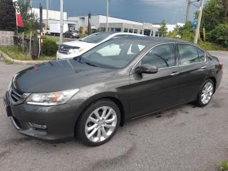 Used 2013 Honda Accord Touring, V6, NAVI, CAMERA, BLUETOOTH, 122 KM for sale in Ottawa, ON