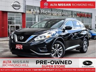 Used 2017 Nissan Murano S   Navi   Push Start   Heated Seats   18 Alloy for sale in Richmond Hill, ON