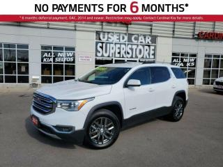 Used 2017 GMC Acadia SLT, AWD, Leather, Navigation, 7 Passenger. for sale in Niagara Falls, ON